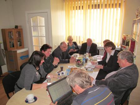 LVBOS tarybos posėdis – susitikimas su Seimo nare G. Burokiene