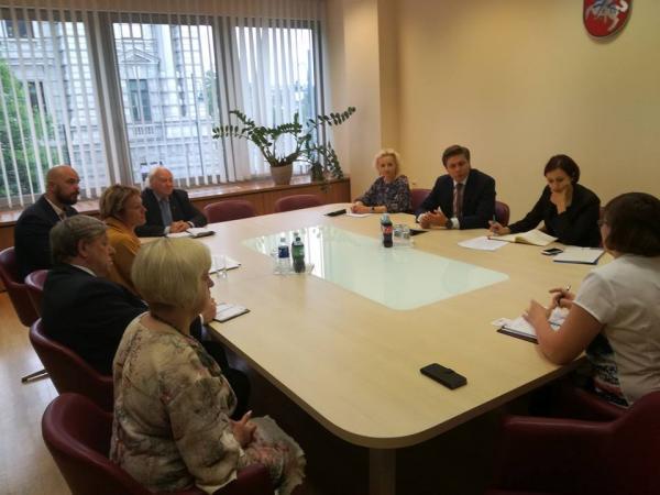 LVBOS tarybos susitikimas su Ūkio ministru