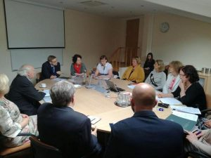 LVBOS tarybos susitikimas su Socialinės apsaugos ir darbo ministerijos atstovais