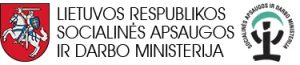 Lietuvos Respublikos socialinės apsaugos ir darbo ministerijos logotipas