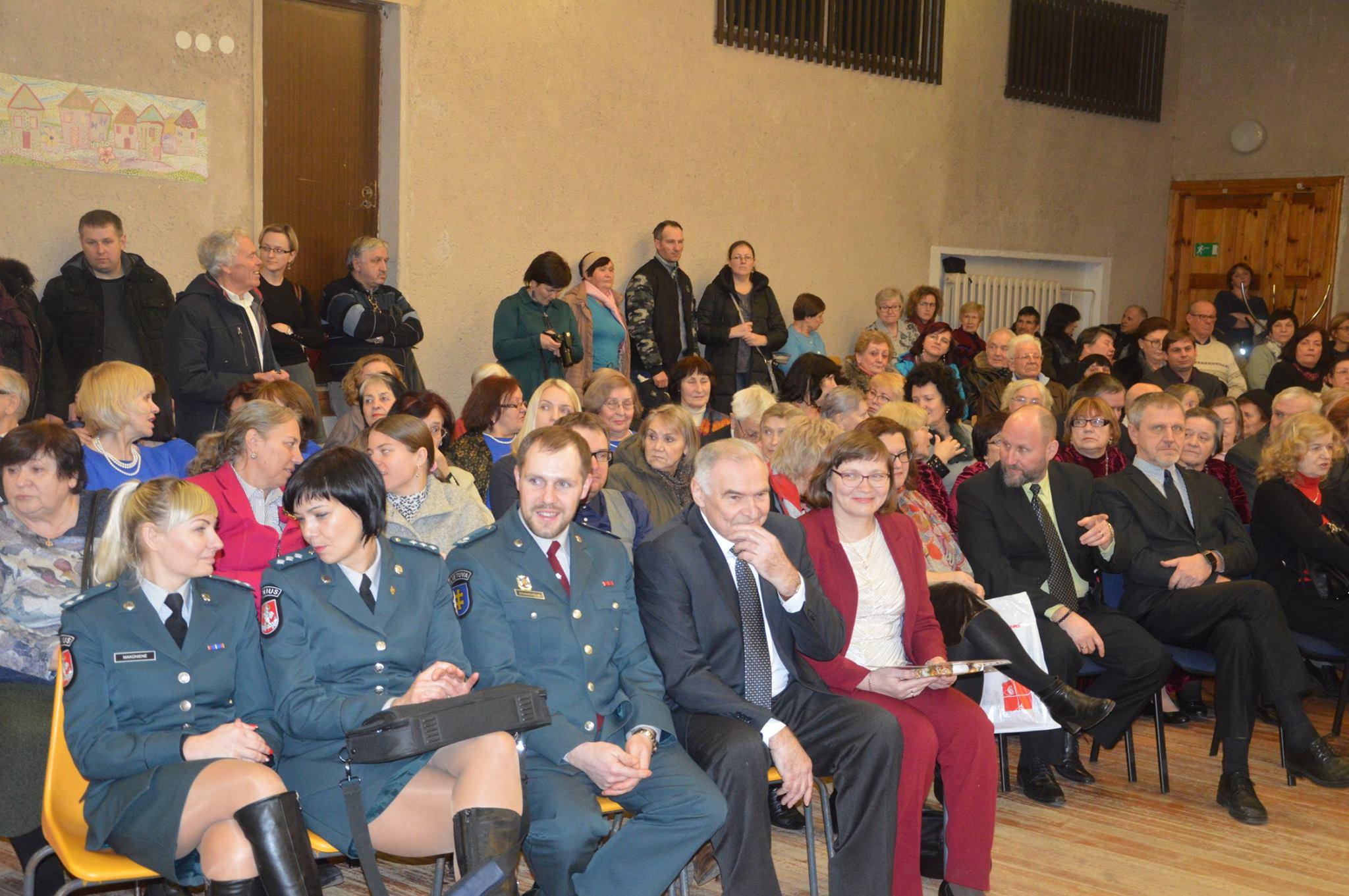 Susitikimas Vilniaus Šeškinės bendruomenėje