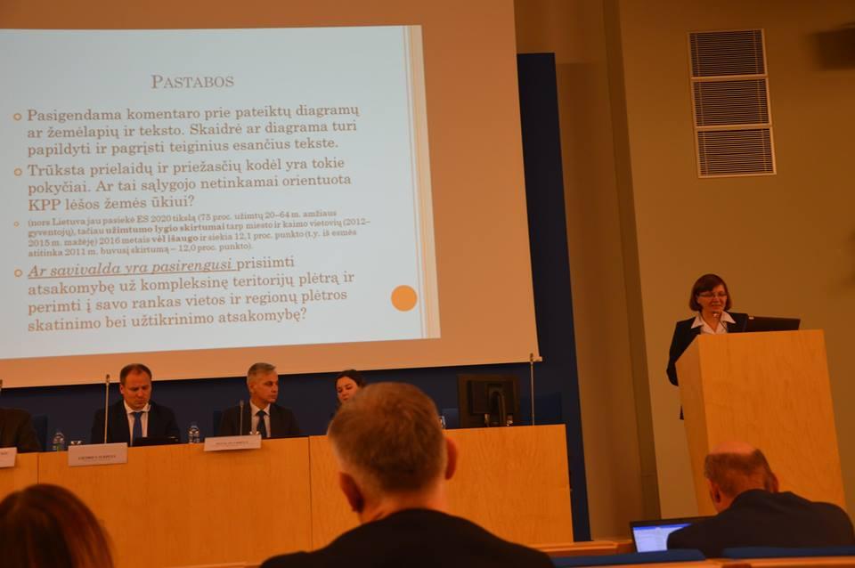 Lietuvos Regioninės plėtros kryptys. Baltosios knygos pristatymas