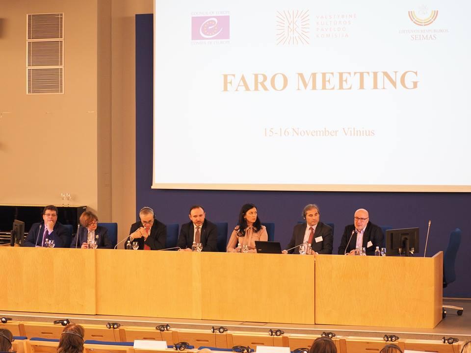 Tarptautinė Faro konvencijos konferencija Lietuvoje