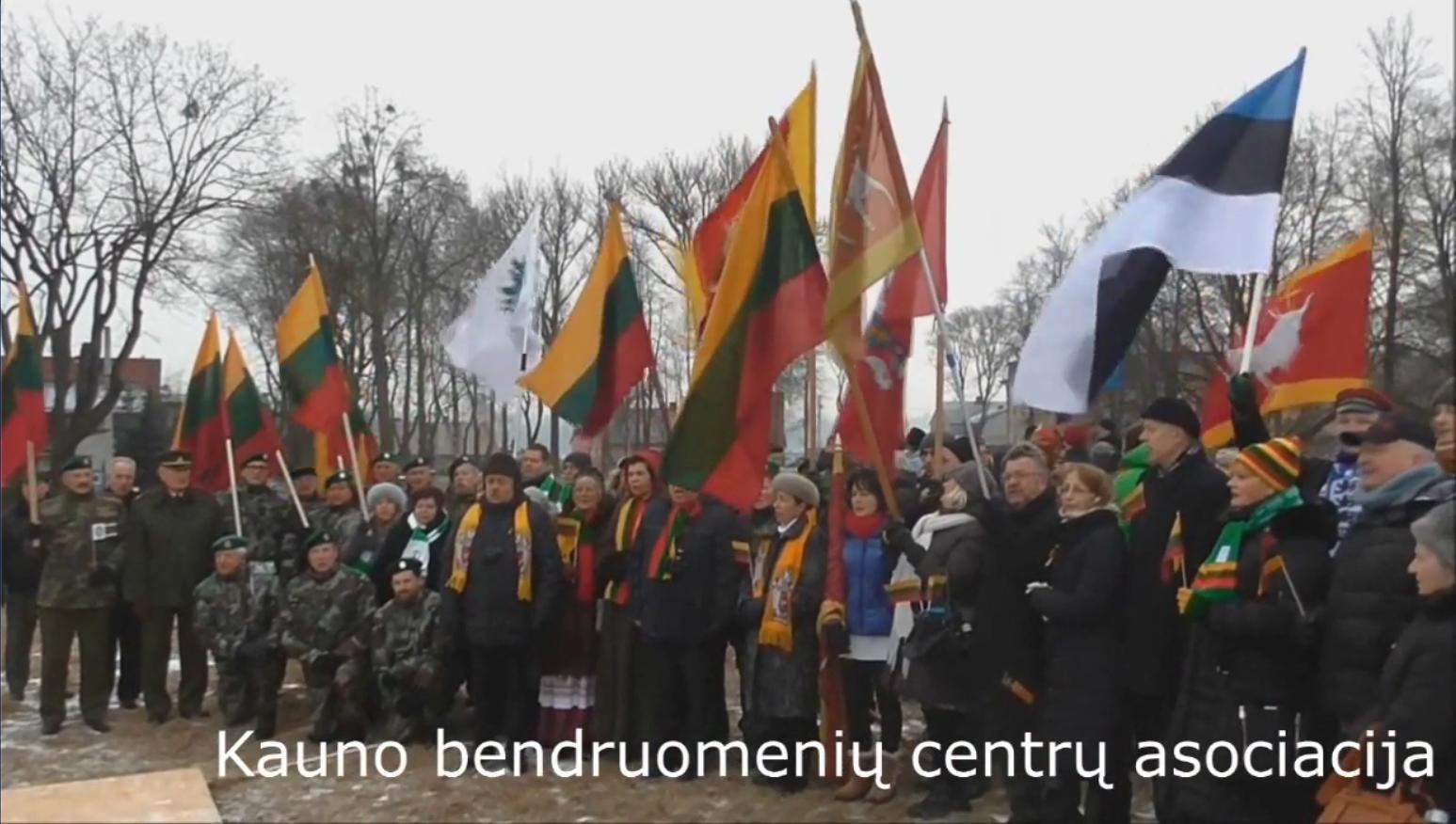 Vasario 16-osios minėjimas Lietuvos bendruomenėse