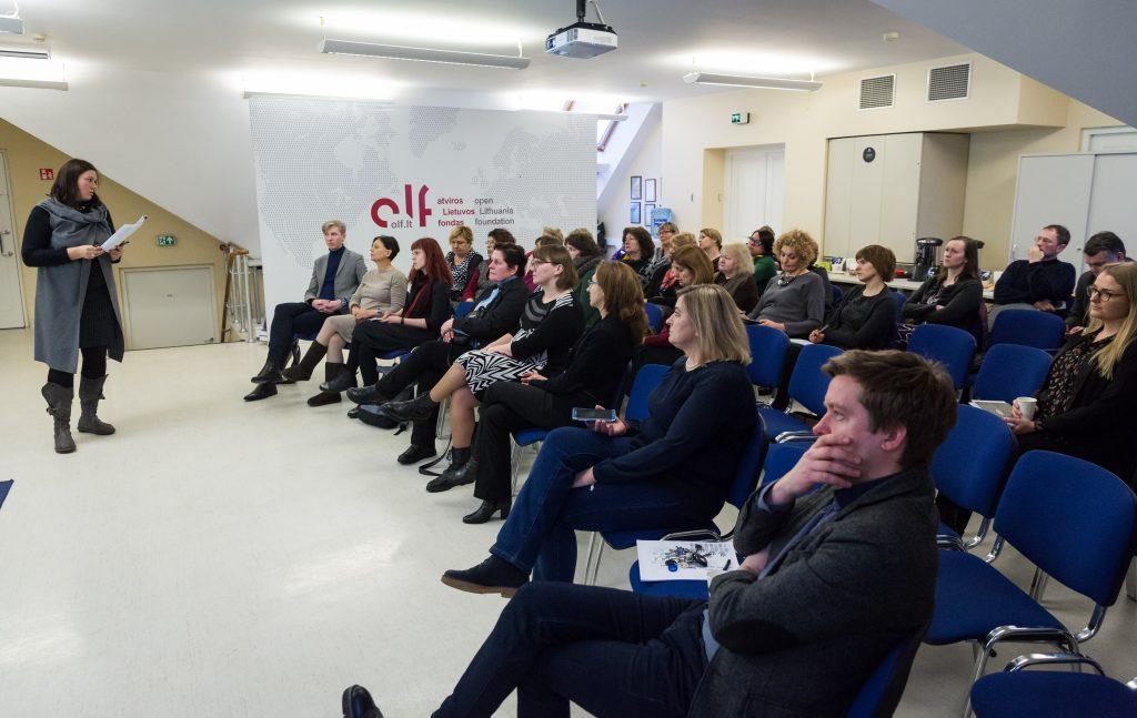 LVBOS dalyvavo NVO rėmimo fondo steigimo aptarime