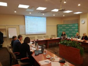 """""""Remti bendruomeninę veiklą savivaldybėse"""" įgyvendinimo aprašo aptarimas SADM"""