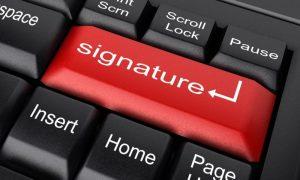 Svarbi naujiena elektroninių parašų turėtojams
