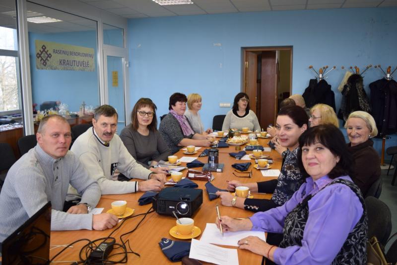 Kauno ir Raseinių rajonai vietos bendruomenes stiprina naujomis pareigybėmis