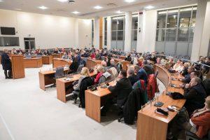2017 metų bendruomenių ir NVO rėmimo projektų rezultatų aptarimas Vilniuje