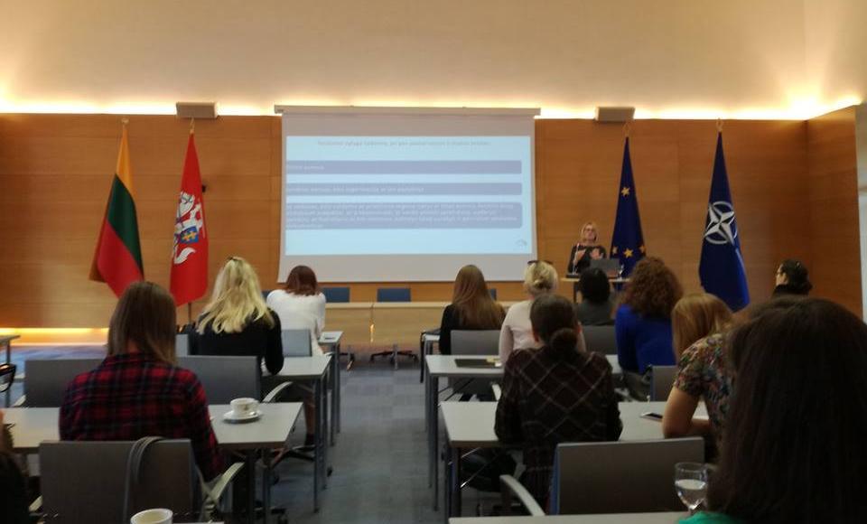 Vystomojo bendradarbiavimo programos projektų apžvalgos renginys