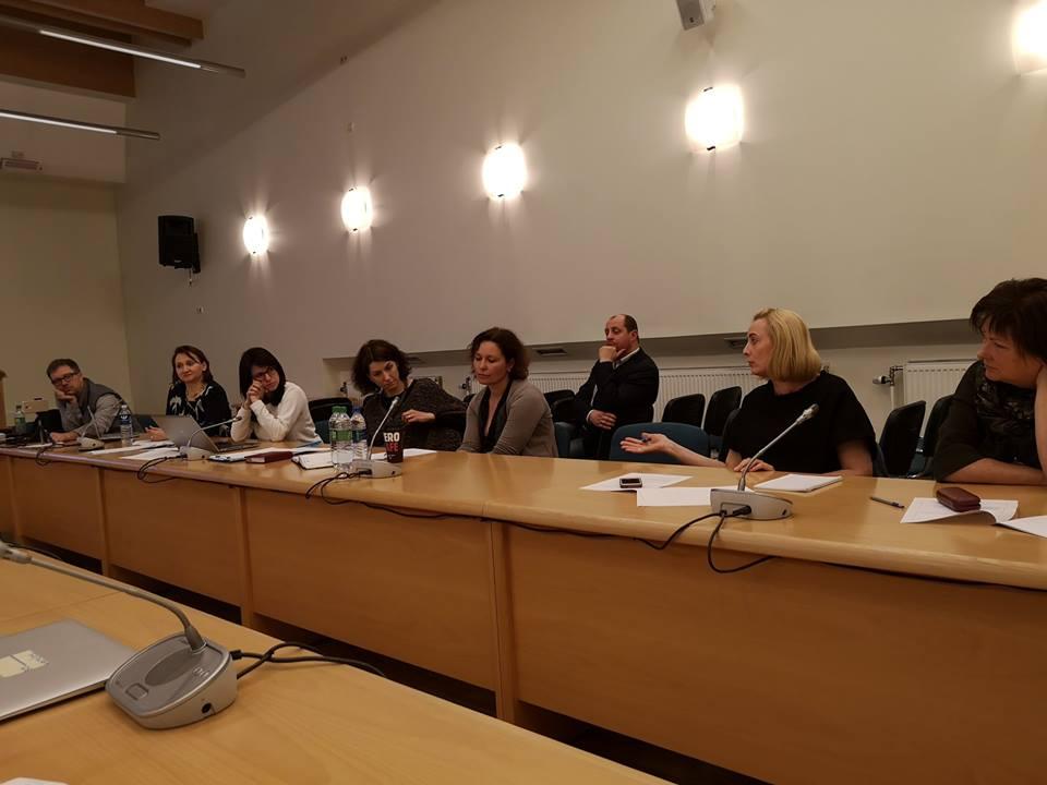 Lietuvos socialinio verslo ekosistemos studijos aptarimas Ūkio ministerijoje
