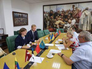 LVBOS – Ukrainos bendradarbiavimo programos projekto susitikimai