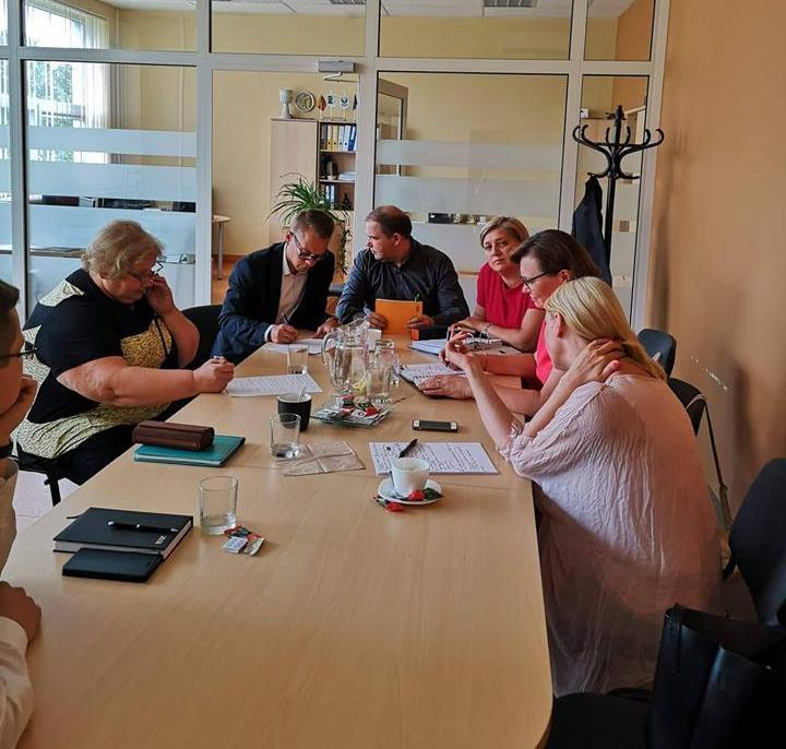 LKBS ir LVBOS susitikimas su Žemės ūkio viceministru