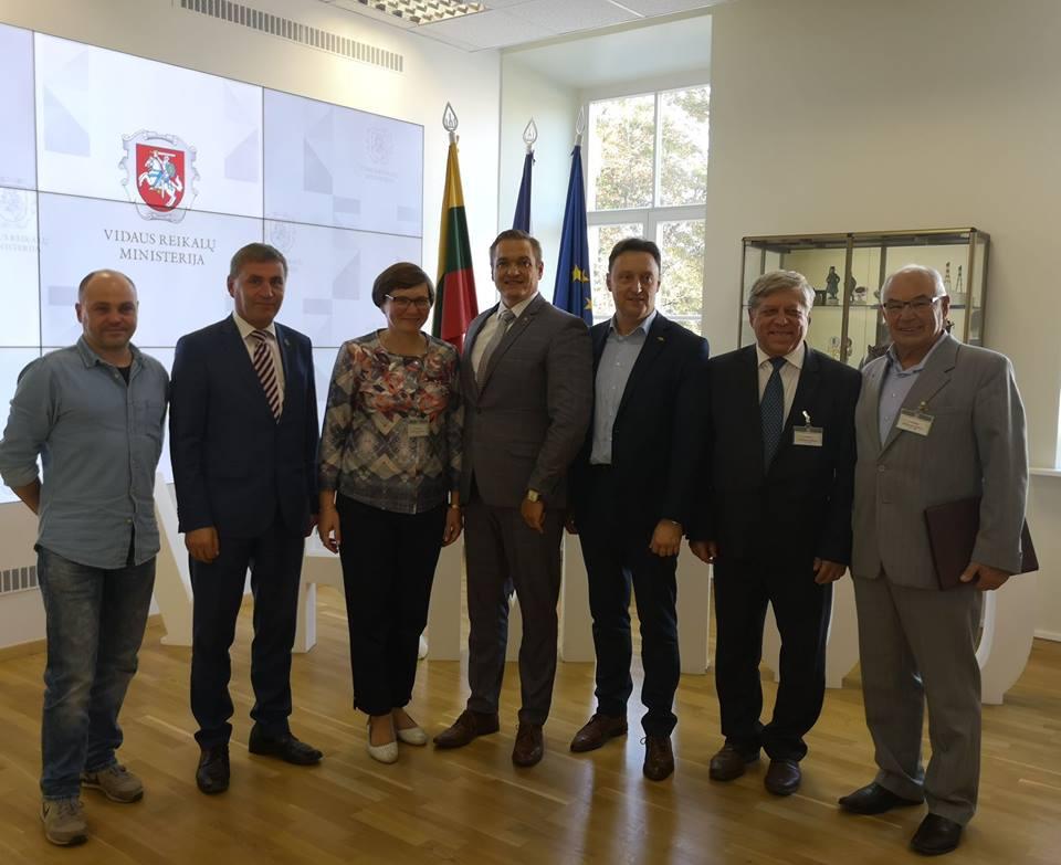 LVBOS atstovų susitikimas su Vidaus reikalų ministru