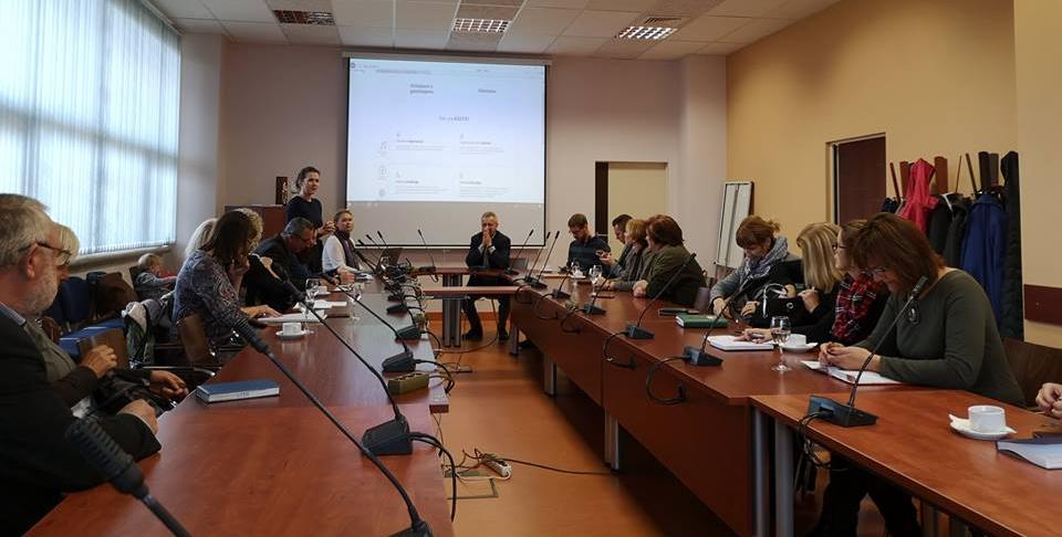 Lietuvos kaimo bendruomenių sąjungos pasitarimas
