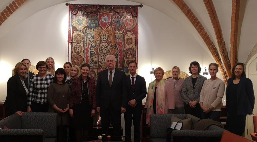Susitikimas su Švedijos URM Vystomojo bendradarbiavimo departamento direktoriumi