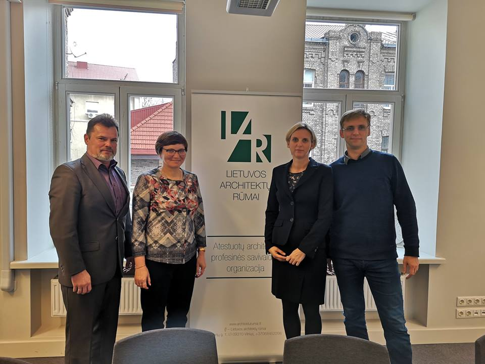 Susitikimas su Lietuvos architektų rūmais ir NTP asociacija