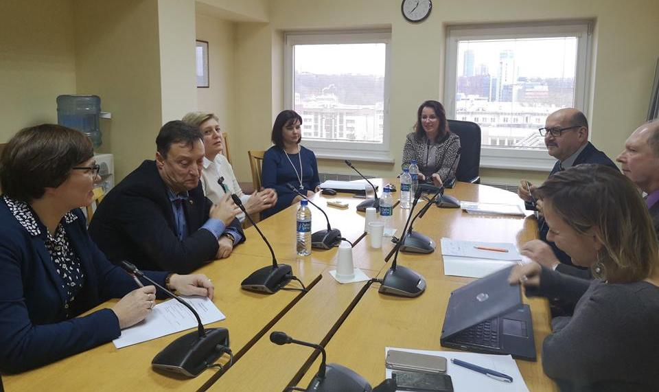 Susitikimas su Seimo Valstybės valdymo ir savivaldybių komitetu
