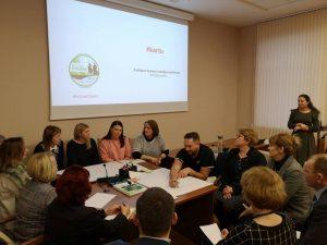 Diskusija dėl vietos bendruomenių rėmimo priemonės