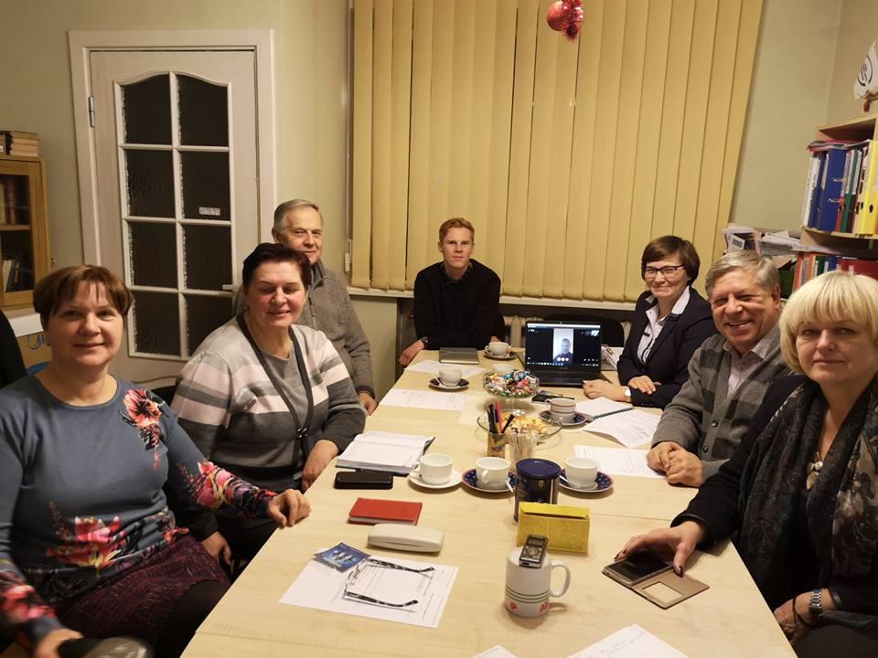 LVBOS tarybos posėdis apie vykdomą VRM projektą