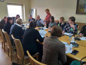 Seimo VVIS komiete dėl Vietos savivaldos įstatymo tobulinimo