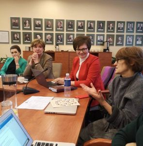 Lietuvos NVO tarybos posėdis