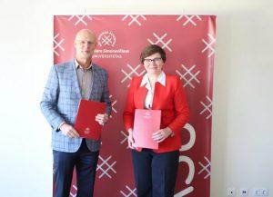 Sutartis su Kazimiero Simonavičiaus universitetu