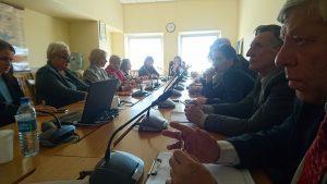 Nacionalinės NVO tarybos susitikimas Seime