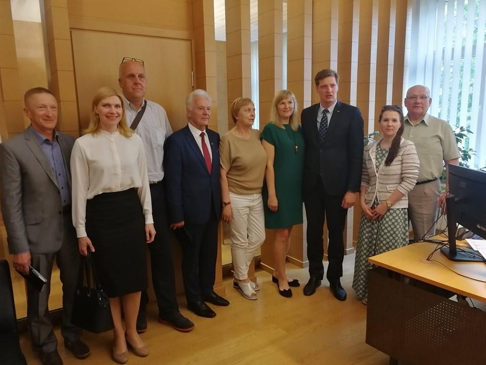 Lietuvos kaimo bendruomenių susitikime su Aplinkos ministru