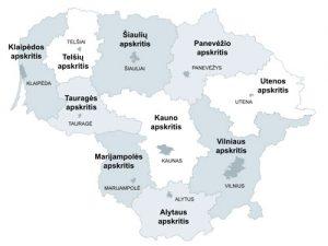 LVBOS atstovų delegavimas į Regionų plėtros tarybas