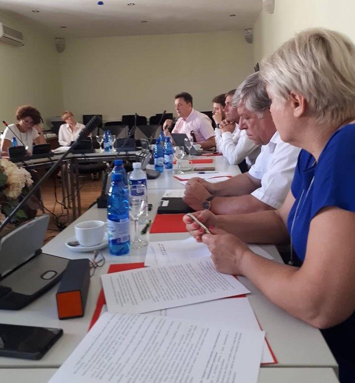 Pirmasis Nacionalinės bendruomeninių organizacijų tarybos posėdis