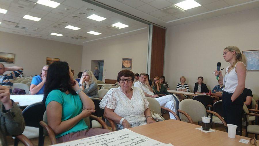 Strateginis Lietuvos bendruomenių programos aptarimas SADM