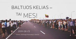 Kviečiame paminėti Baltijos kelio 30-metį