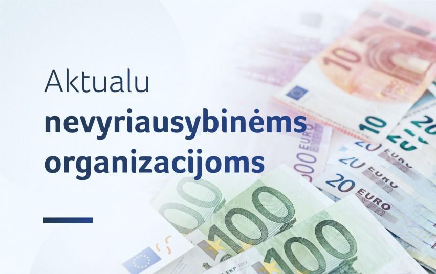 Paskelbtas NVO vienijančių asociacijų finansavimo konkursas