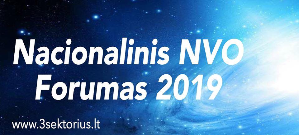 Nacionalinis NVO forumas 2019