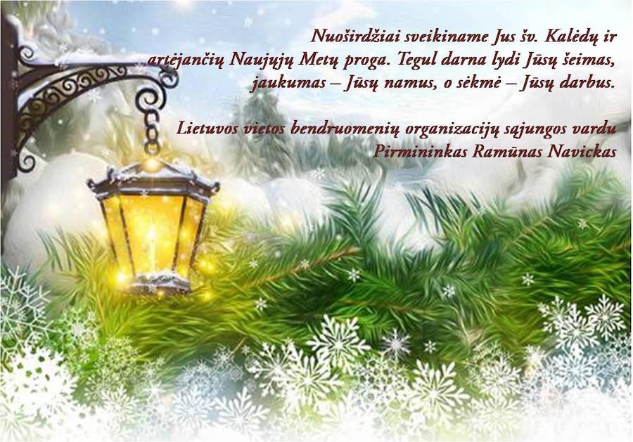 Sveikiname su artėjančiomis šventėmis