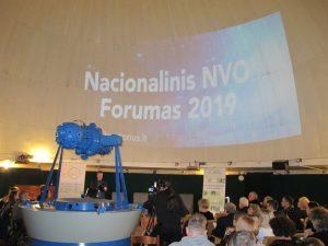 Įspūdžiai iš Nacionalinio NVO forumo 2019