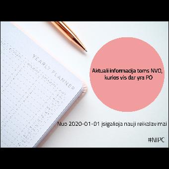 Aktualu NVO, kurios vis dar yra perkančiosios organizacijos ir apie interesų deklaravimą