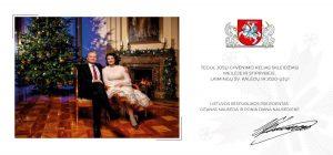 LR Prezidento kalėdinis sveikinimas bendruomenėms