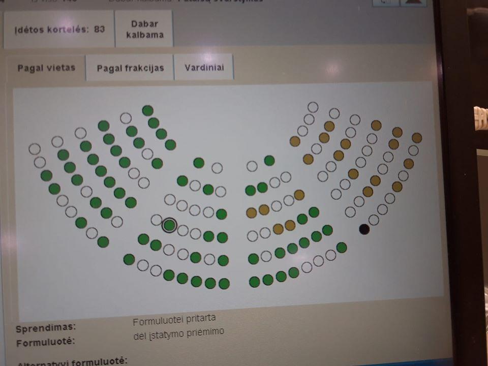 Seimas priėmė naują NVO plėtros įstatymą