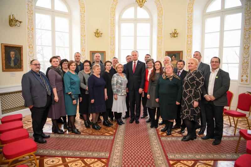 Prezidento susitikimas su Marijampolės apskrities bendruomenėmis