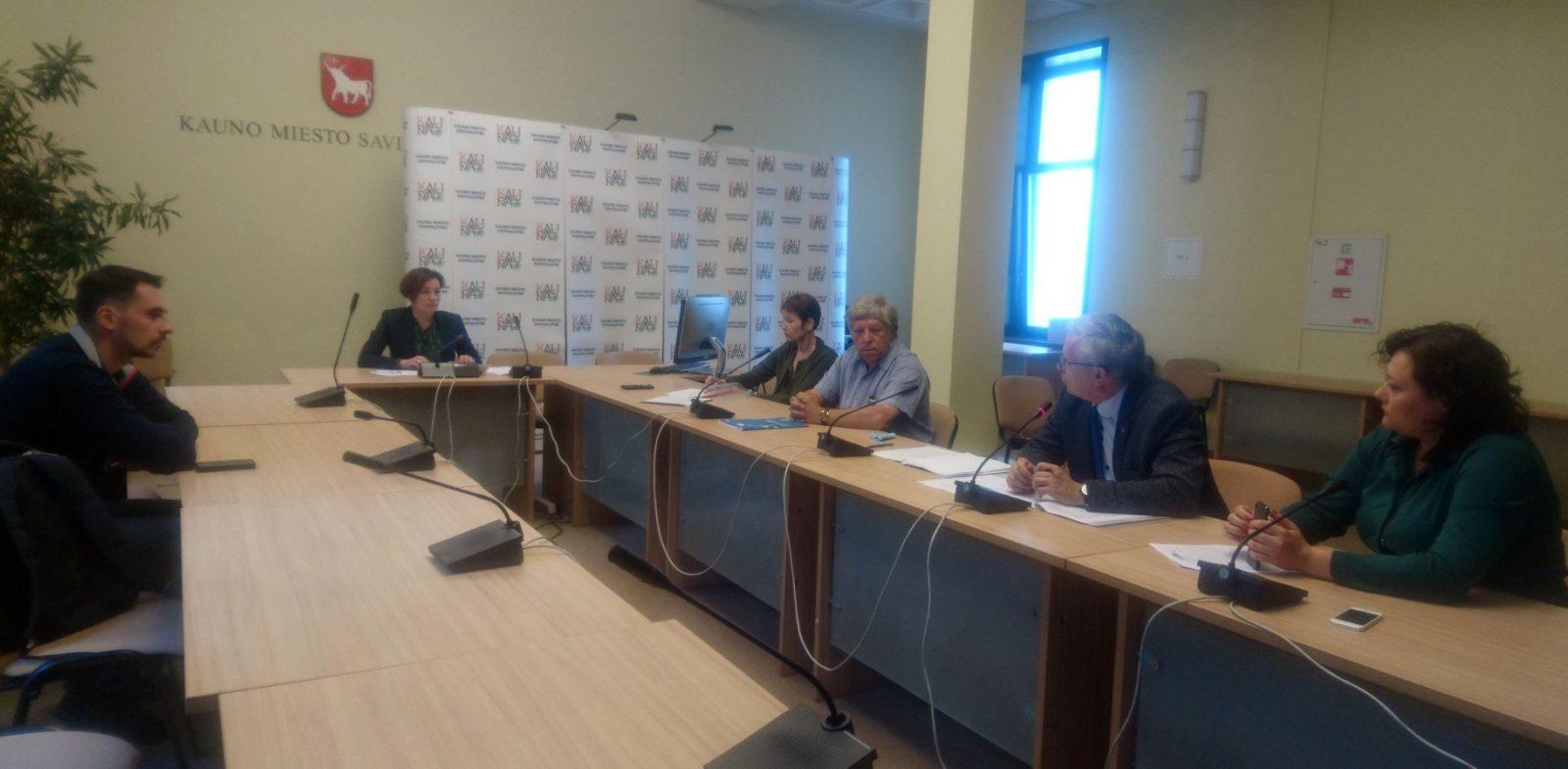 Diskusija su Kauno savivaldybės Antikorupcijos komisija