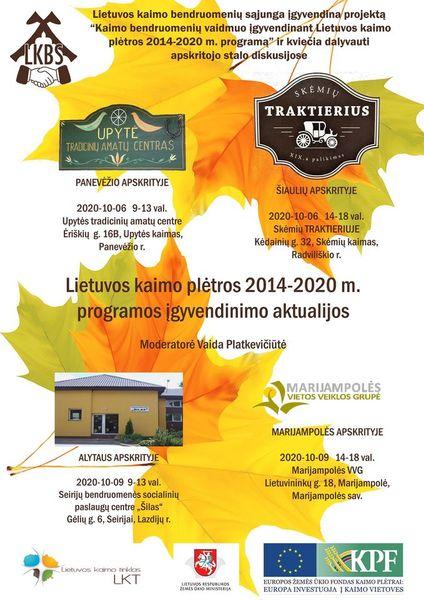 Lietuvos kaimo bendruomenių sąjungos projektas