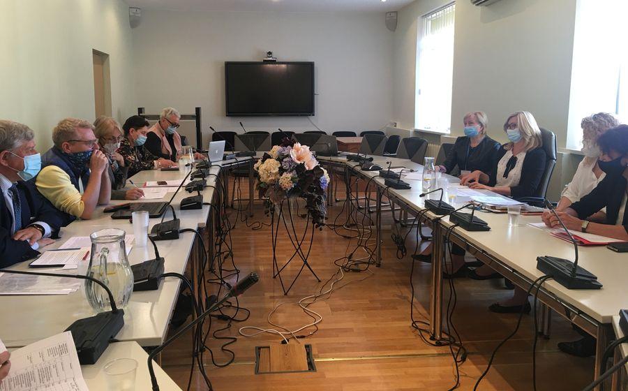 Diskusija Vidaus reikalų ministerijoje