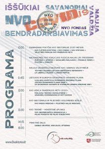 Lietuvos NVO forumas 2020