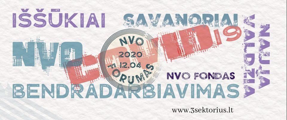 Nacionalinis NVO forumas 2020