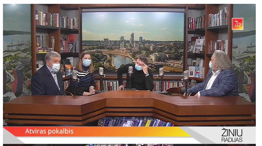 Žinių radijo laidoje apie senjorus bendruomeninėje veikloje