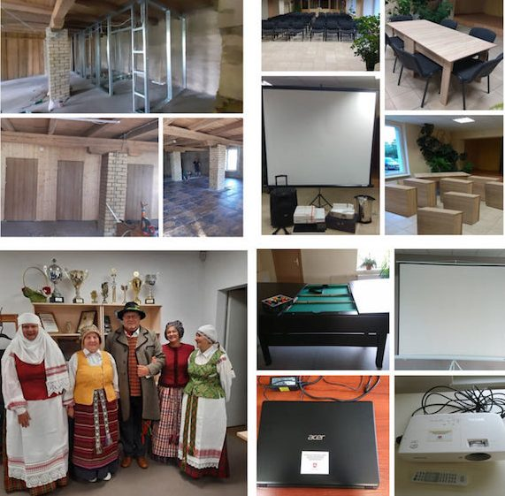 Kaimo bendruomenių organizacijų projektai