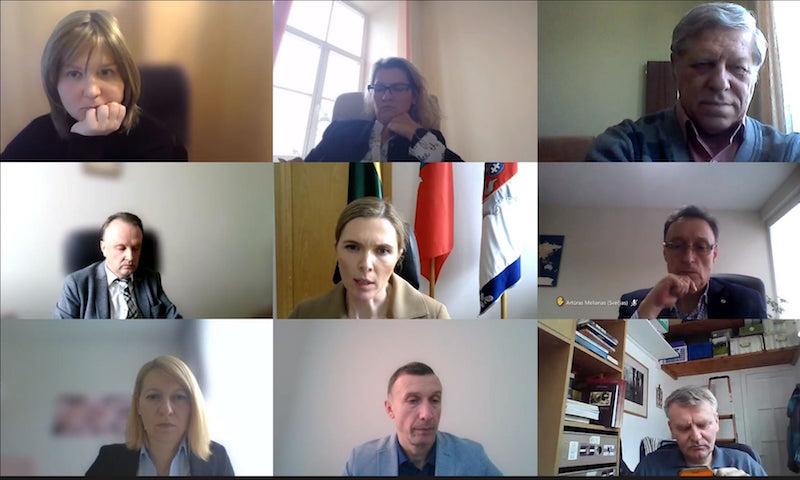 Read more about the article LVBOS susitikimas su Vidaus reikalų ministre