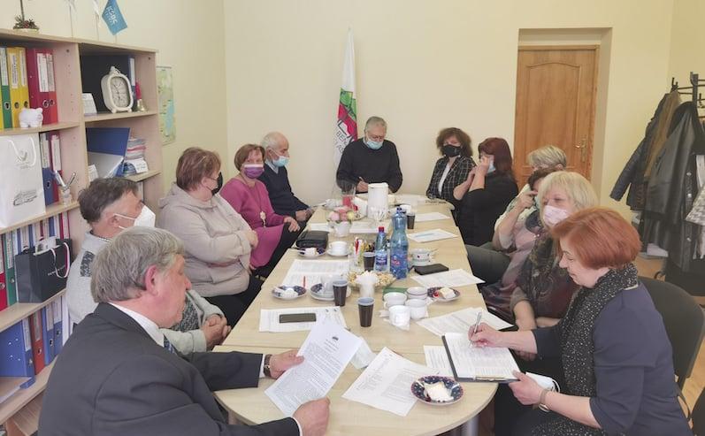 Kauno bendruomenių centrų asociacijos ataskaitinis susirinkimas